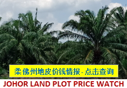 Johor Land Plot Transactions Price Watch
