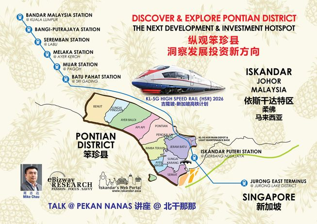 2018-03-17 Mike Chau Pontian Property HSR Talk - EN
